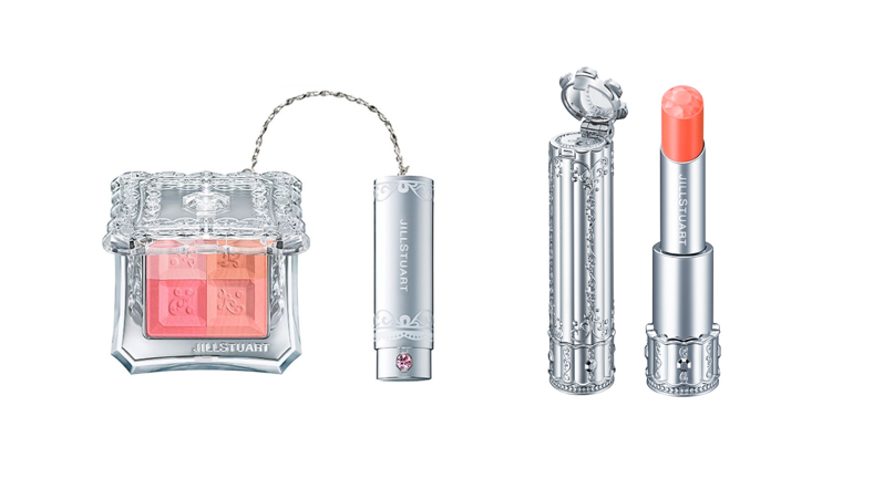Jill Stuart Mix Blush Compact and Lip Blossom in 01 Ranunculus Veli  | BeautyFresh