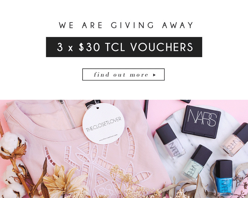 Giveaway The Closet Lover | BeautyFresh