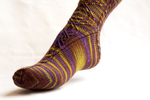 Lillibror Sock pattern
