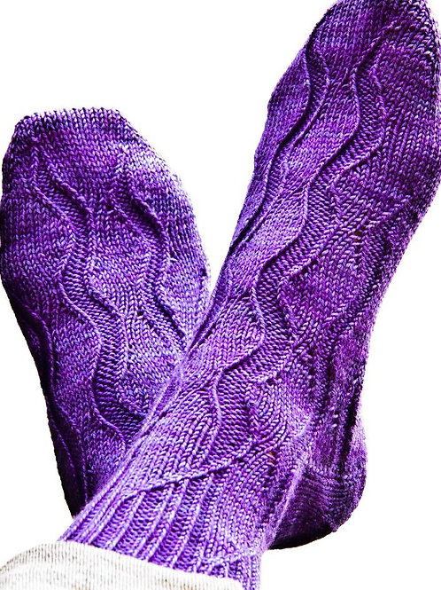 GUSH Sock pattern