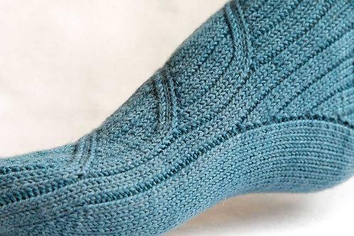 Swipe Sock pattern