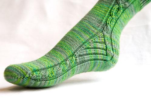 Empoisonnée Sock pattern