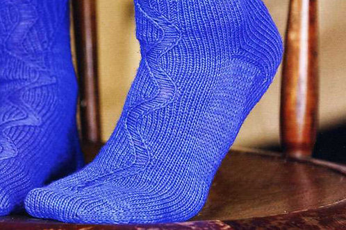 Scaletta Sock pattern