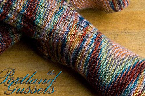 Portland Gussets Sock pattern