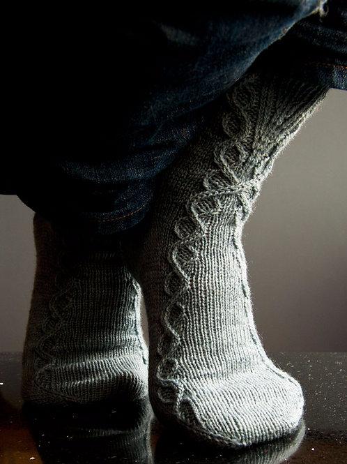 Slingback Sock pattern
