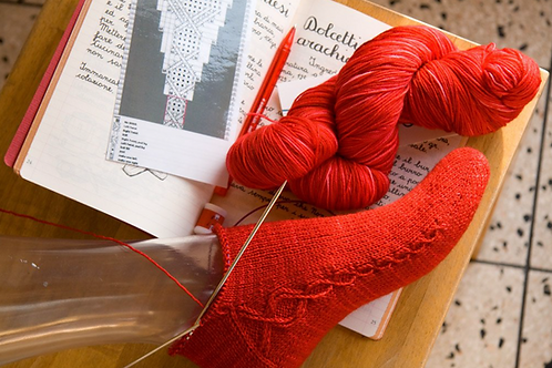 Kiila Sock pattern