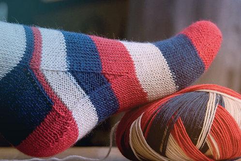 Spice Man Sock pattern