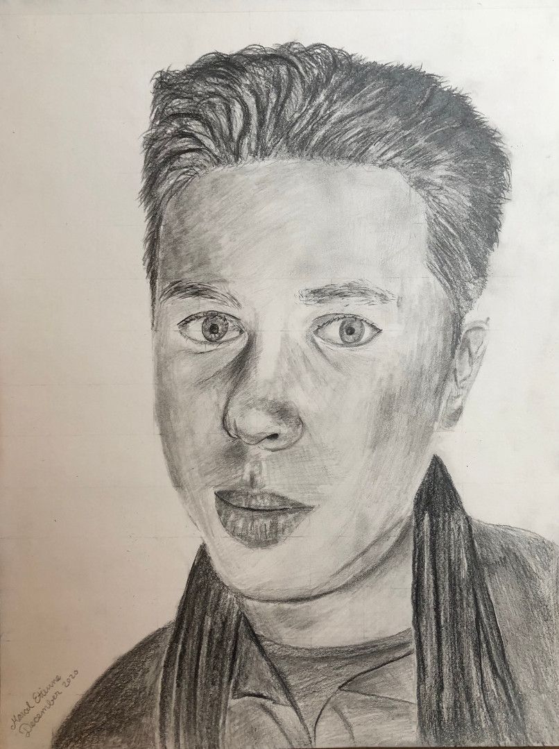 Self portrait December 2020