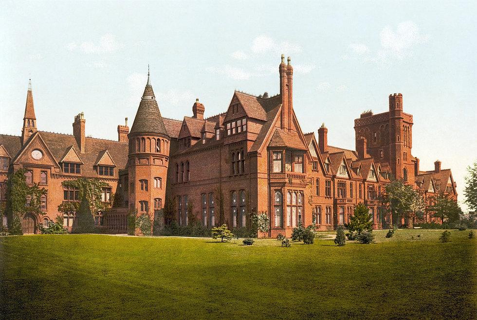 Girton College, Cambridge, England
