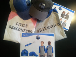 #b12nation, Beacon 12 logo, shirts