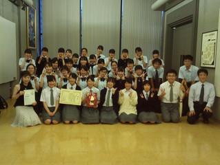 仙台南高等学校音楽部合唱団金賞受賞