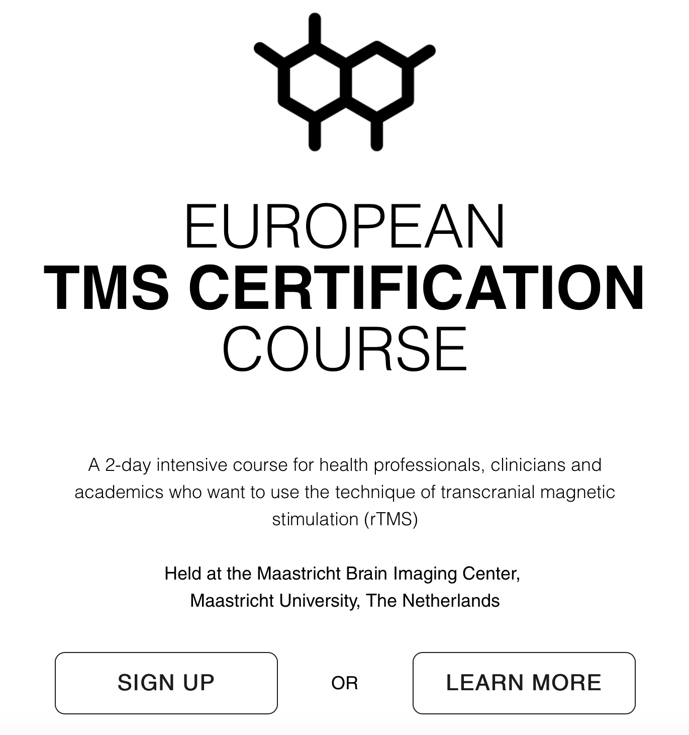 Tms Course Sign Up