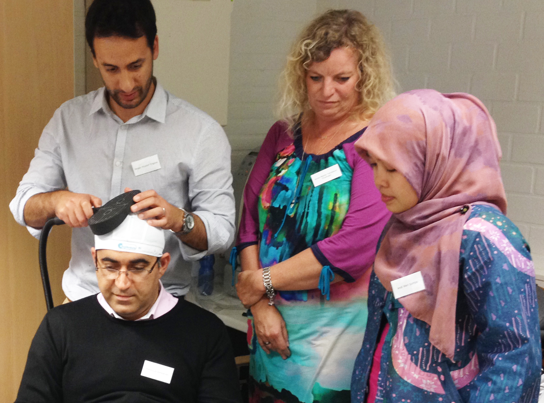 intensive practical hands-on session