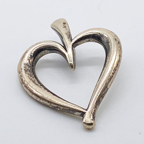 James Avery Open Heart Pendant (Retired)