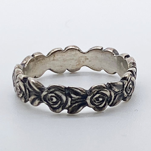 James Avery Rose Eternity Band (RETIRED. RARE)