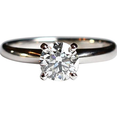 0.92 CARAT H SI2 DIAMOND SOLITAIRE