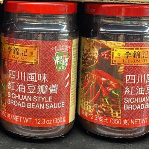 李锦记-四川风味红油豆豉酱 12.3oz