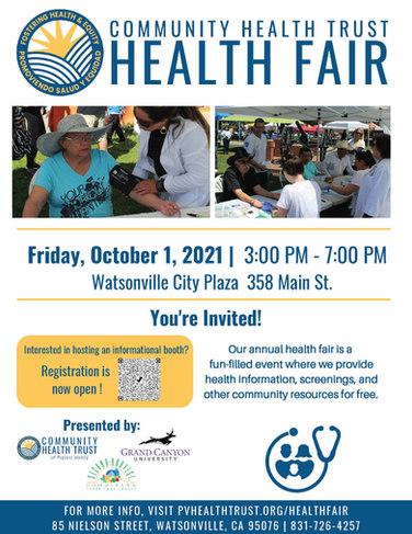 Community Health Trust Health Fair