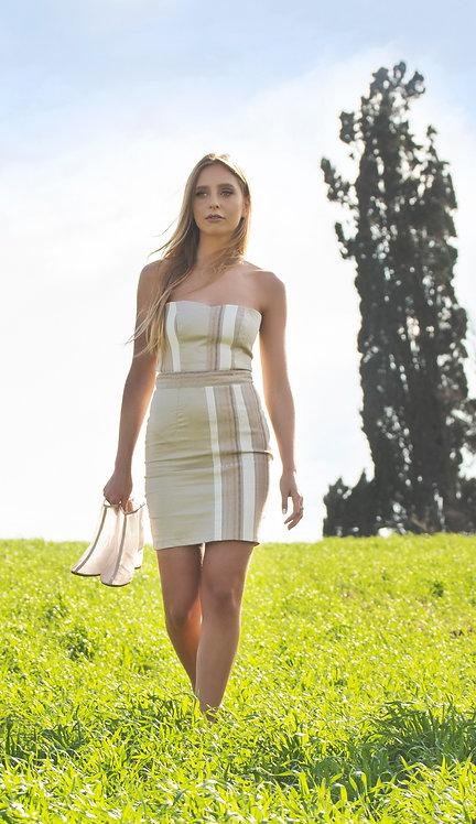 Beige Saffron Dress