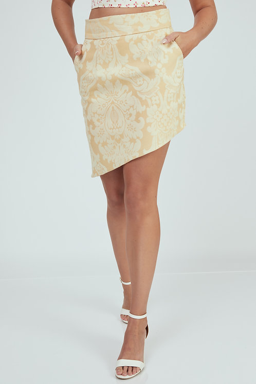 Cream Huckleberry Skirt