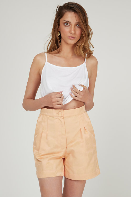 Peach Shir Trousers