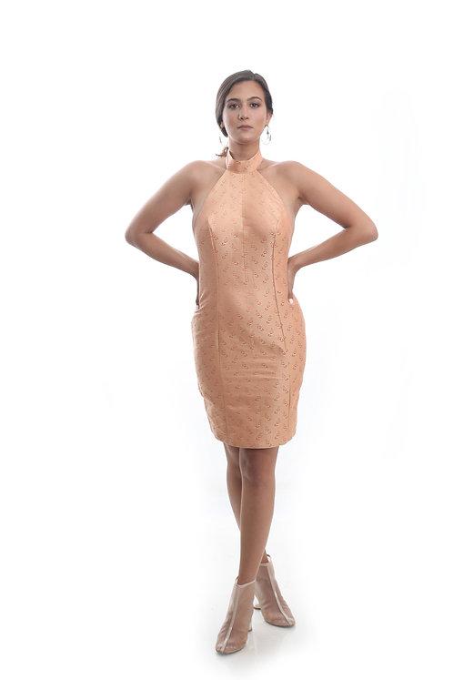 Peach Valerian Dress