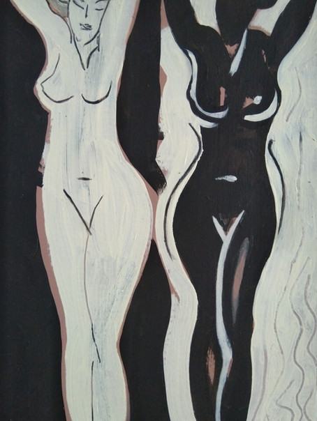 Ebony and Ivory