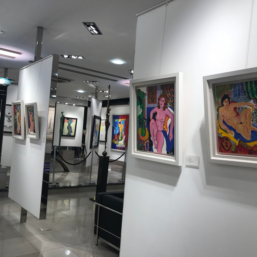 A view of the gallery