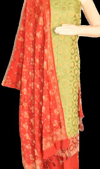 Dupino Silk Suit