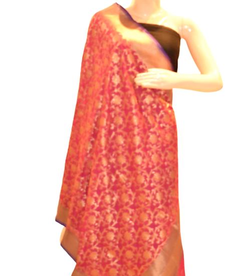 Jaal Silk Dupatta