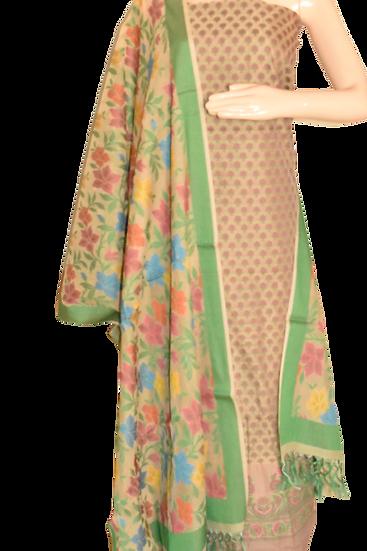 Moonga Meena Silk Suit