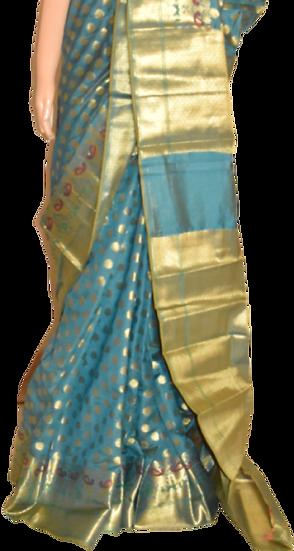 Zari Butta Silk Saree