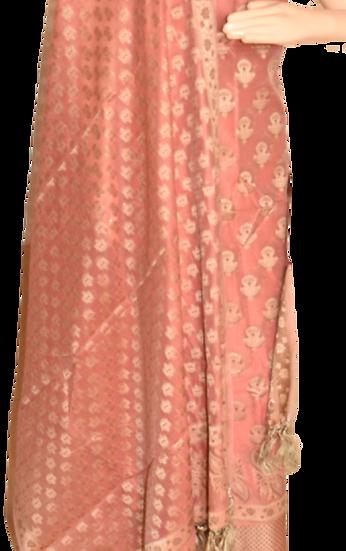 Moonga Cotton Silk Suit