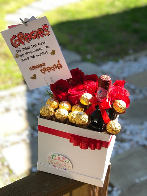 Roses,Chocolates and Wine