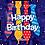 "Thumbnail: 18"" Happy Birthday Balloons"