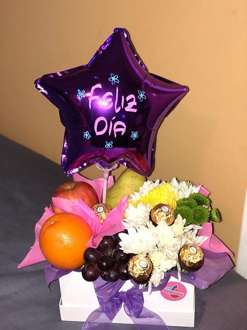 Fruits and chocolates