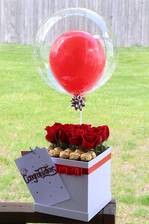 Flowers, Chocolates and Balloon