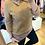 Thumbnail: Camisola de malha efeito camisa camel