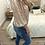 Thumbnail: Blusa estampada verde/rosa