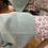 Thumbnail: Kimono de malha c/rachas laterais água