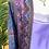 Thumbnail: Kimono comprido seda lavanda/azul