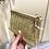 Thumbnail: Porta-moedas ráfia dourada Don Algodon