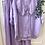 Thumbnail: Blusa gola baby linho lilás