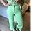 Thumbnail: Calça wide leg com cinto verde