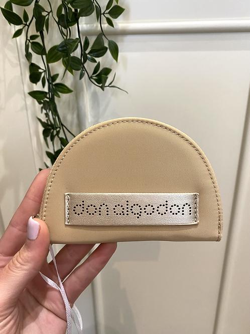 Porta-moedas beje Don Algodon