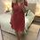 Thumbnail: Vestido plissado bolinhas Naf Naf