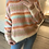 Thumbnail: Camisola de malha estampado multicor