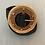 Thumbnail: Cinto elástico c/fivela redonda preto