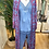 Thumbnail: Kimono comprido seda rosa/azul