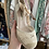 Thumbnail: Sandálias cunha renda cru